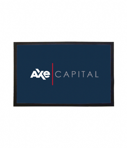 Axe Capital Welcome Mat Inspired by TV Show Series Billions